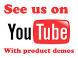 Learn more about some of our products. Watch a video demo - more demos coming soon!