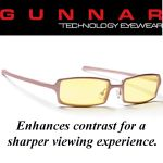 Gunnar Anime Amber Pale Rose Indoor Digital Eyewear