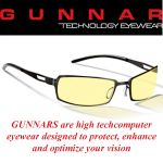 Gunnar Rocket Amber Onyx Indoor Digital Eyewear
