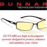 Gunnar Rocket Amber Onyx Indoor Digital Eyewear