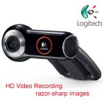 Your friends and family can see you in widescreen video at HD quality (720p)