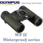 Olympus 8x25 WP II Green Binoculars