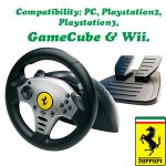 Universal Challenge 5 in 1 Racing Wheel