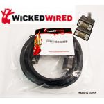 Wicked Wired 10m HD15 15Pin Male To HD15 15Pin Male VGA Video Cable