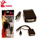 Wicked Wired Active Display Port To DVI Adapter