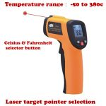 GM300 Infrared Thermometer with Laser Aimpoint