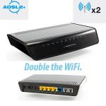 N600 Dual Band WiFi Gigabit Modem Router with Voice - NB16WV-02