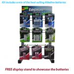 Tecxus Alkaline Battery KIT + Stand