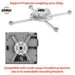 Telehook ProAV Projector Flush Mount
