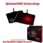 Tt eSPORTS Draconem Dual Surface Aluminium Mouse Pad With Bungee
