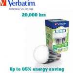 Up to 85% energy saving