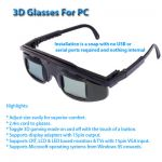 eDimensional 3D Glasses For PC