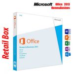 Microsoft Office 2013 Home & Business DVD, Retail, 1 User, 32bit/64bit - T5D-01798