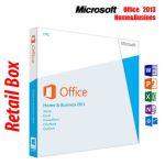 Microsoft Office 2013 Home & Business DVD, Retail, 1 User, 32bit/64bit - T5D-01798