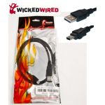 Connector or adapter type: Single USB 2.0 type A plug to single USB mini 5 pin plug