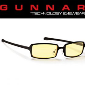 Gunnar Anime Amber Onyx Indoor Digital Eyewear