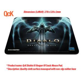 SteelSeries QcK Diablo III Reaper Of Souls Mouse Pad
