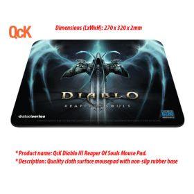 SteelSeries QcK Diablo III Reaper Of Souls Mouse Pad