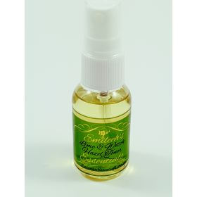 Lime and witch hazel toner