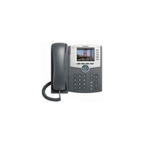 Figure 1. Cisco SPA 525G2 5-Line IP Phone with Color Display
